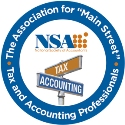 National Society Of Accountants Logo